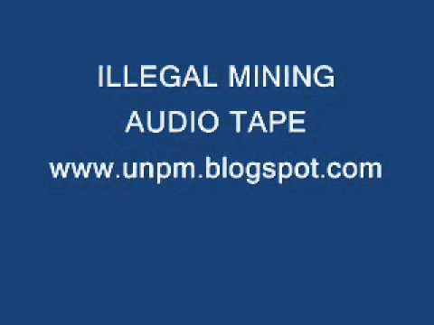 AUDIO TAPE TEST # NINE ILLEGAL MINING OF DIAMOND