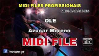 ♬ Midi file  - OLE - Azucar Moreno