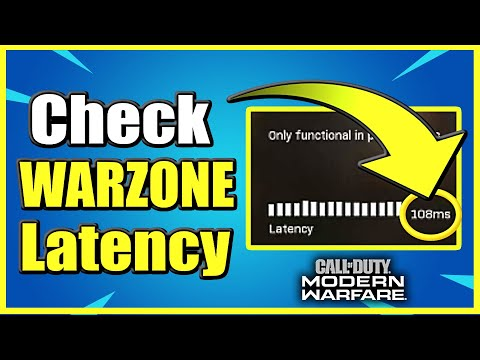 How To Check Latency & Ping In Call Of Duty Warzone (Easy Method)