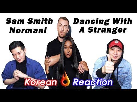 ENG SUB🔥🔥 KOREAN BOYS React to SAM SMITH NORMANI - DANCING WITH A STRANGER