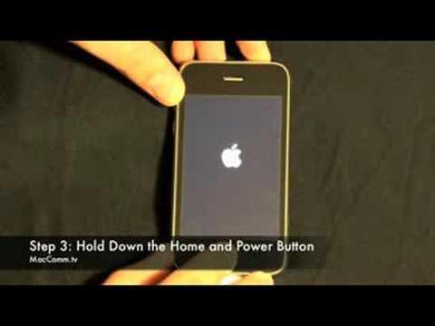How To: iPhone DFU Mode - MacComm.tv