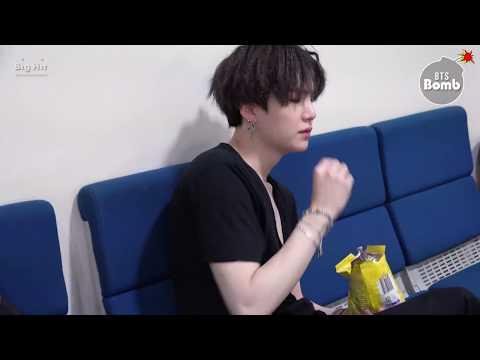 [BANGTAN BOMB] SUGA Is Eating Snack - BTS (방탄소년단)