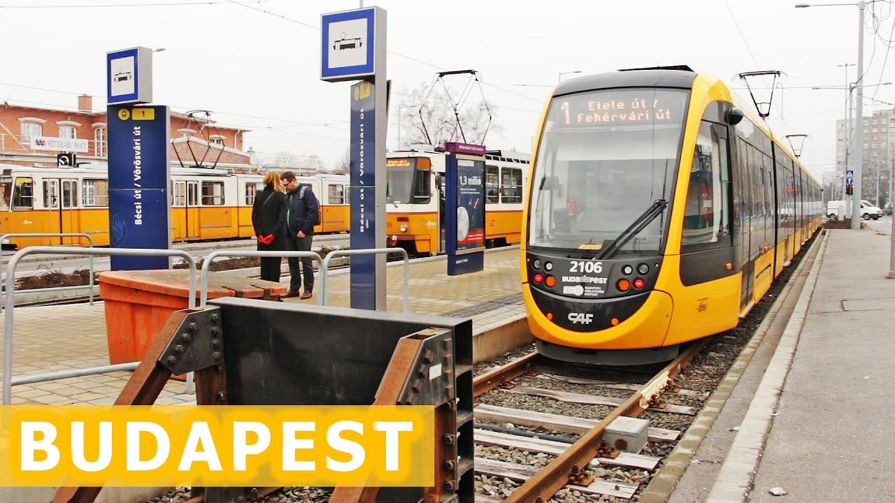 World's Longest Trams / Najdłuższe tramwaje świata w Budapeszcie