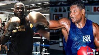 Training Methods Side By Side (Deontay Wilder vs Luis Ortiz 2)