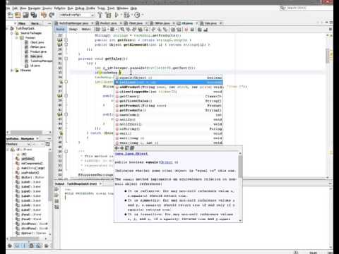 Java Programming Project for Matric (South Africa) - Example Part 2