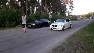 Streetrace with Subaru Impreza WRX daylidriver