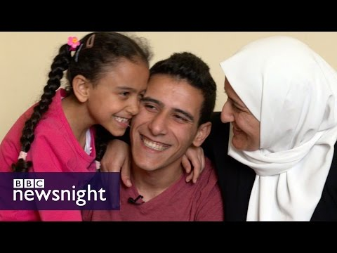 The Syrian refugees rebuilding their lives in Britain - BBC Newsnight