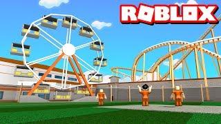 JAILBREAK THEME PARK!! | Roblox Adventures