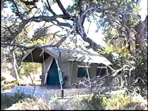 Botswana - Leaving Naxi Pan NP, Flight to Okovango Delta - Video 2000 - 2 of 5