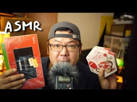 Korean Tries Turkish Delights (Lokum) for the first time | ASMR