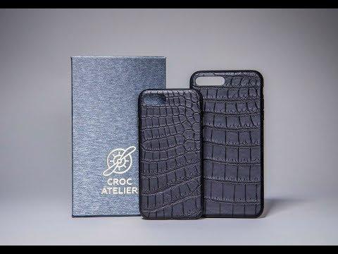 Чехол из кожи крокодила для Iphone 7 / 7 Plus