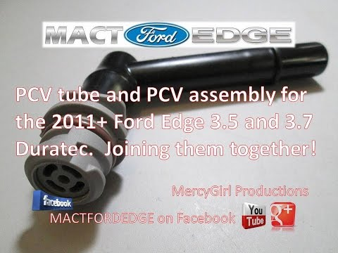 assemby of pcv tube and pcv valve for 2011 plus ford edge. Black Bedroom Furniture Sets. Home Design Ideas