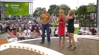 Jeanette Biedermann ZDF Fernsehgarten 20140720 SC H264 720p