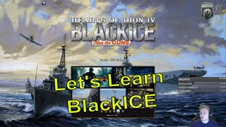 HoI4 - MOD: BlackICE Historical Immersion - Let's learn the Mod!