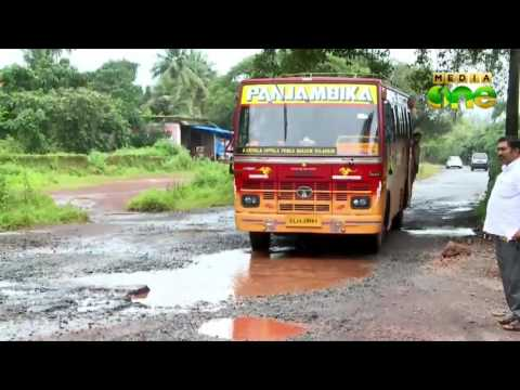 Uppala-kanyana road renovation work: residents allege corruption