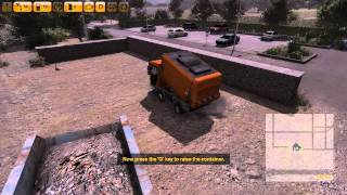 Street Cleaning Simulator 2011 Let's Play Gameplay Walkthrough Part 1 Tutorial