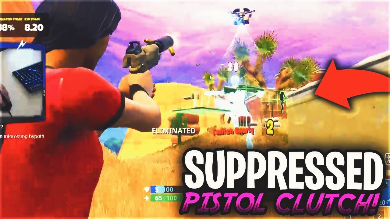 Download Suppressed Pistol Clutch! 16 Kill Duos Gameplay - Fortnite Battle Royale