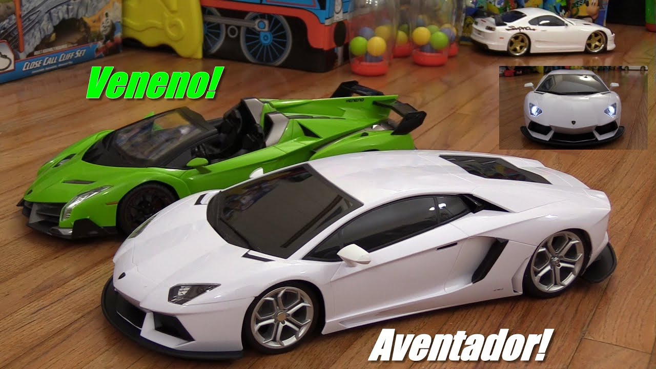 RC Cars: Lamborghini Aventador Supercar Remote Control Unboxing And  Playtime   YouTube
