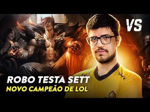 DICAS DE SETT, NOVO CAMPEÃO DE LEAGUE OF LEGENDS FEAT. ROBO | Versus Esports