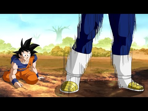 VEGETA USA TELETRANSPORTE Para Salvar A VIDA DE GOKU - Dragon Ball Super