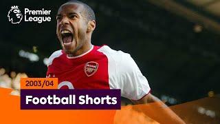 Tremendous Goals | Premier League 2003/04 | Henry, Giggs, Crespo
