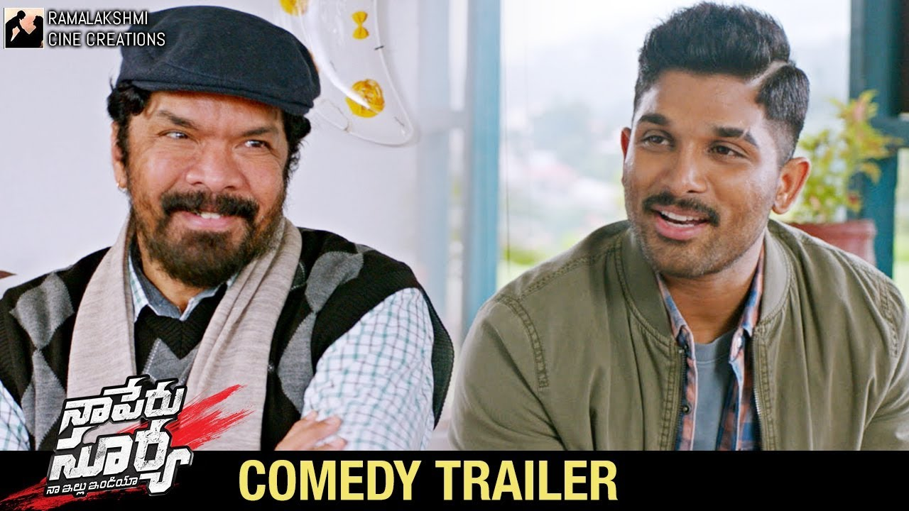Download Naa Peru Surya Naa Illu India Comedy Trailer   Allu Arjun   Anu Emmanuel   Vakkantham Vamsi