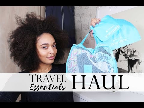 Aliexpress Travel Essentials Haul under £40/$50 | Travel Tips