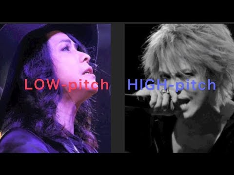【hydeの凄い歌唱力②】高音vs低音 - HYDE's high-pitched vs low-pitched voice【L'Arc~en~Ciel】