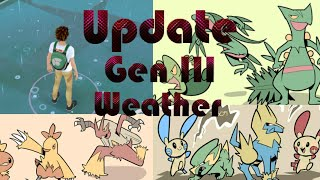 Pokemon Go Update News! Gen III ; Weather ; Star Piece!