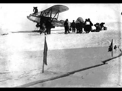 А. Е. Погосов - Фрагмент воспоминаний о работе «аэродрома» челюскинцев