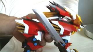 Zoids Aggressive Hayate Liger Action Figure Review