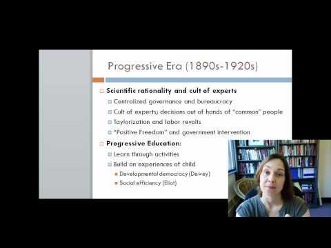 Progressive Education part 1