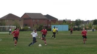 Alexis U12 soccer skills