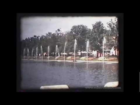 1939 World's Fair in FULL COLOR - Rare Film Footage of New York World's Fair!
