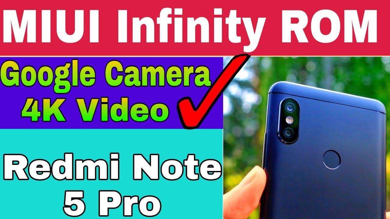 MIUI Infinity ROM For Redmi Note 5 Pro !! FULL TUTORIAL