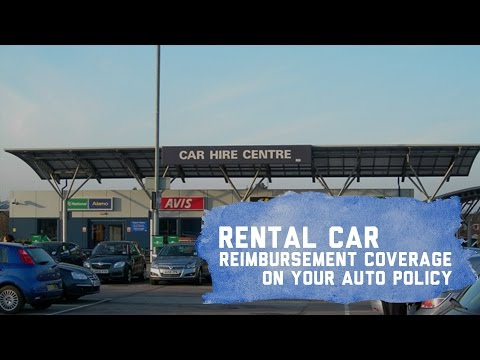 Auto Insurance: Rental Car Reimbursement Coverage