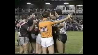 1987 Panasonic Cup Quarter Final Eastern Suburbs (Sydney) Roosters vs Canterbury