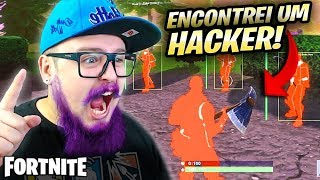 I FOUND A REAL HACKER IN MY DEPARTURE-FORTNITE