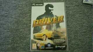 Unboxing sběratelsé edice Driver San Francisco :) [hd 1080p !!!]