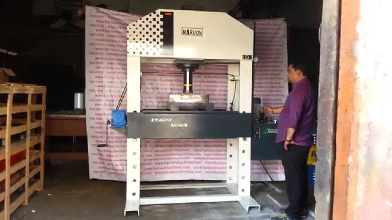 100 Ton Capacity Hydraulic Press Machine C Type