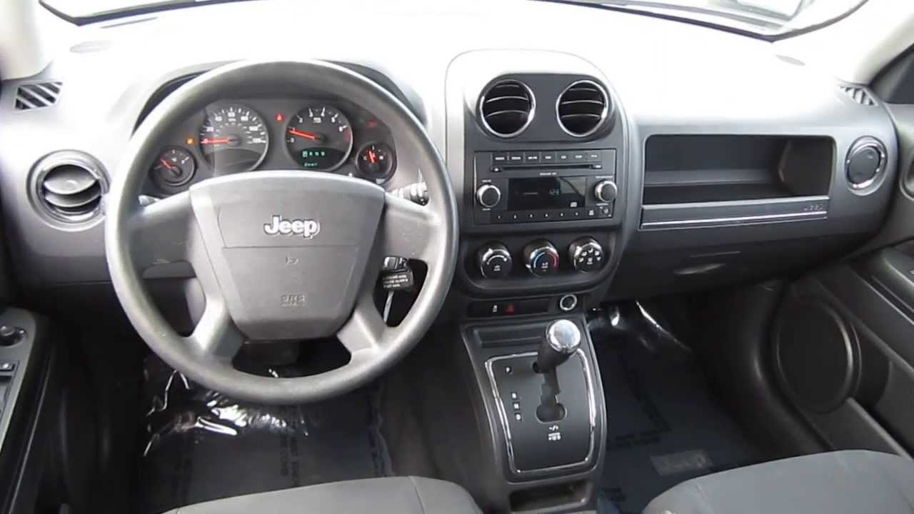 2010 jeep patriot silver stock l500352 interior youtube