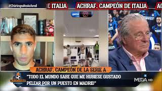 ACHRAF y el REAL MADRID en EL CHIRINGUITO
