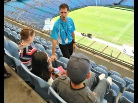 ANZ Stadium Explore Tour - Kids in the Park