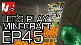 Let's Play Minecraft - Episode 45 - Thread the Needle   Rooster Teeth