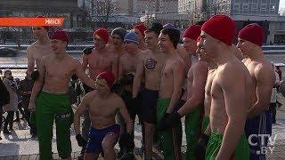 Биатлонистки вдохновили страну: «Забег настоящих мужчин» в Минске