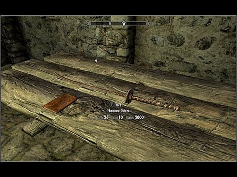 Skyrim ebony sword location