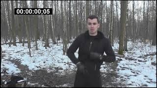 ASZnam и Макс Варвар. Тест на скорость применения пистолета и ножа. Нож быстрее!