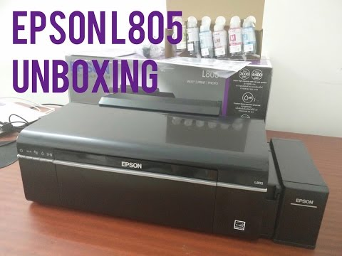 Epson L805 Wireless (WiFi) Photo, CD, DVD and ID Card