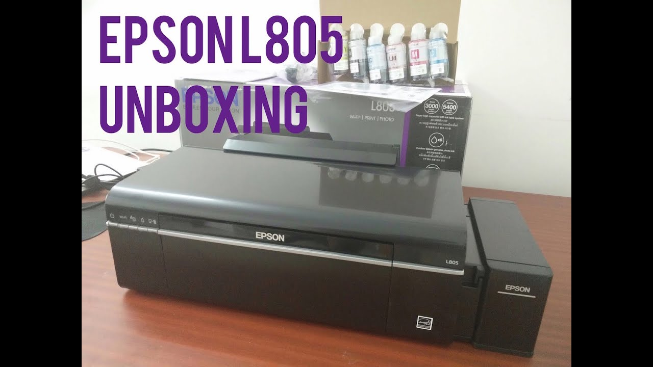 Epson L805 Wireless Wifi Photo Cd Dvd And Id Card