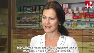 Jak fungují eRecepty? Poradí Vám šarmantní lékárnice Jana Doleželová. :)